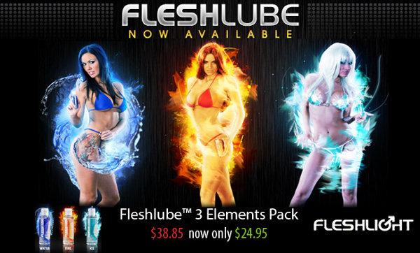 fleshlube elements special offer from fleshlight
